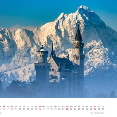 Allgäu Kalender 2017 - Januar