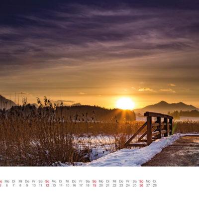 Allgäu Kalender 2017 - Februar