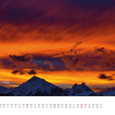 Allgäu Kalender 2017 - März